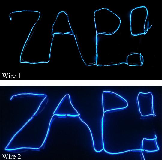 wire 1 vs wire 2