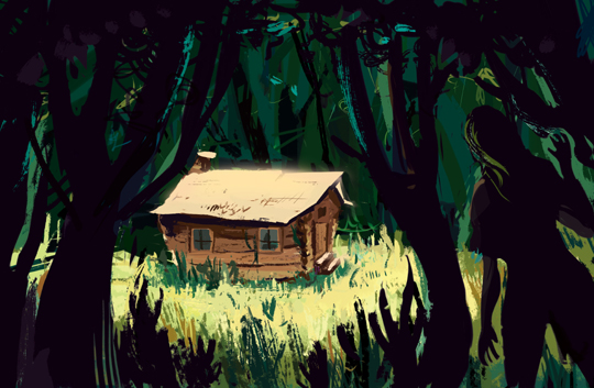The Last Cabin_artwork by Aliisa Lee
