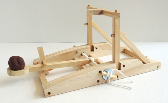 finished catapult