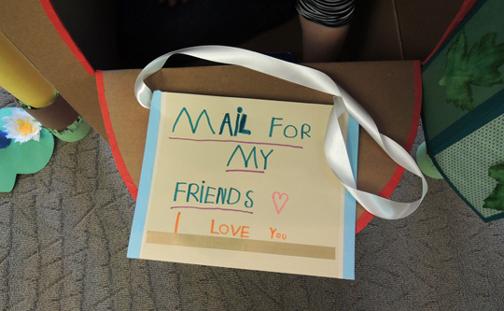 cute mail bag