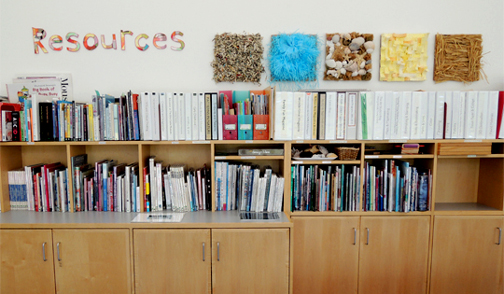 resource shelves