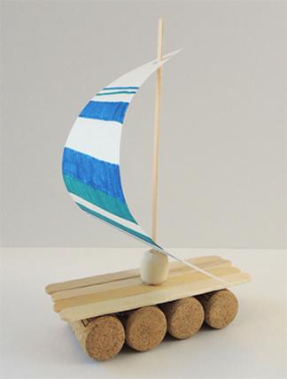 sail on mast