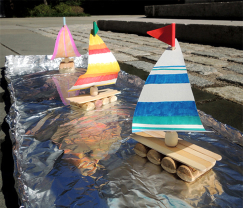 tin foil regatta