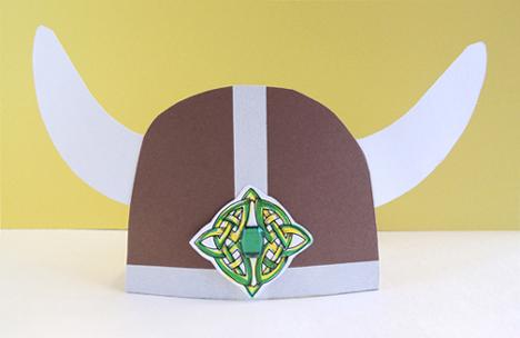 finished viking hat