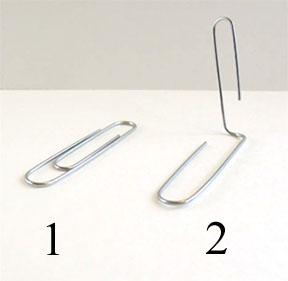 paper clip foot