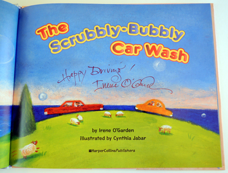 scrubbly-bubbly car wash