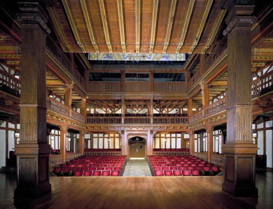 FSL Interior: Folger Theatre View C