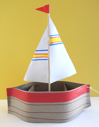 finished boat
