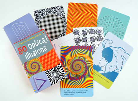 optical illusion cards