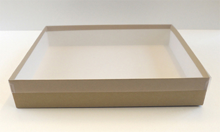 box with clear lid