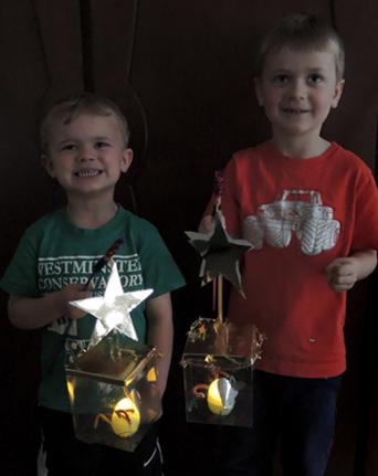 finished lanterns