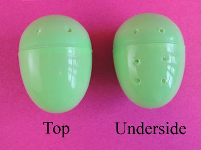 holes in eggs