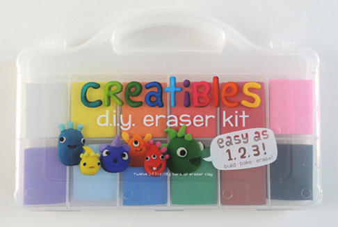 creatibles eraser kit