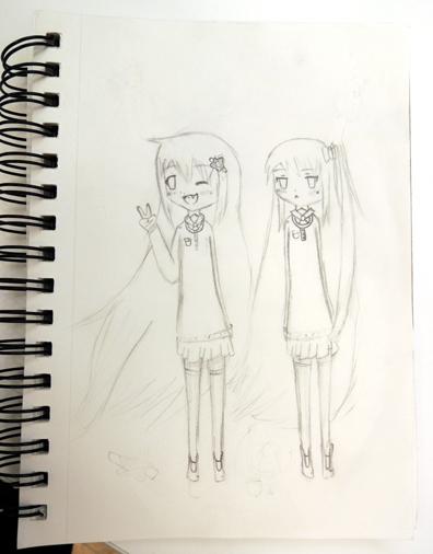 manga twins
