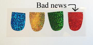 rainbow scale fail