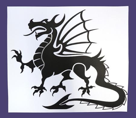 metal dragon step 1