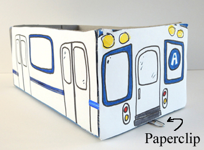 subway paperclip