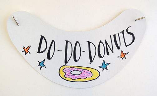 donut shop visor