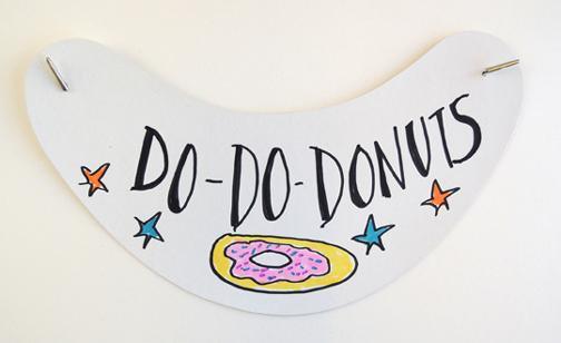 donut shop visor