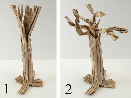 final steps woodland tree