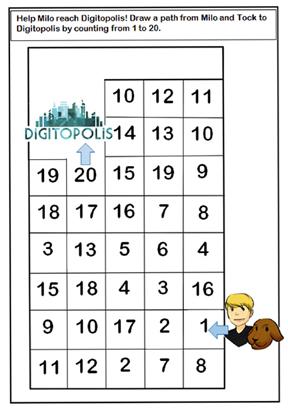 milo number grid puzzle