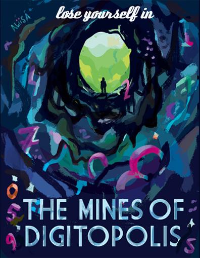 mines poster by aliisa lee