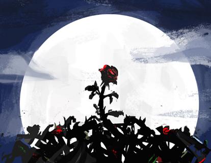 Creepy Night_artwork by Aliisa Lee