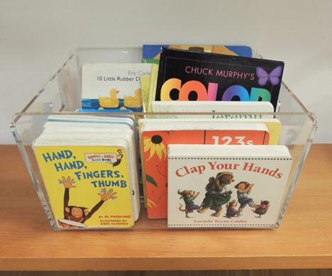 board book bins