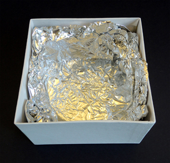 foil inside box