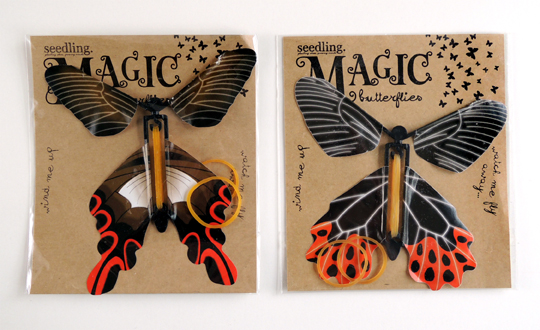 magic butterflies by seedling