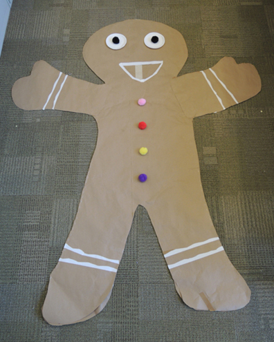 finished cookie costume