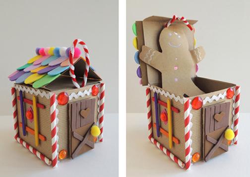 pop up gingerbread demo