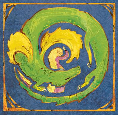the dragon princess_artwork by aliisa lee
