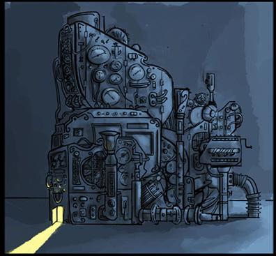 the enchanted machine_artwork by aliisa lee