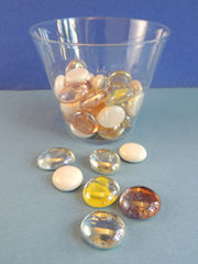 flat glass marble