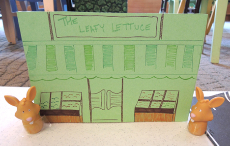 the leafy lettuce