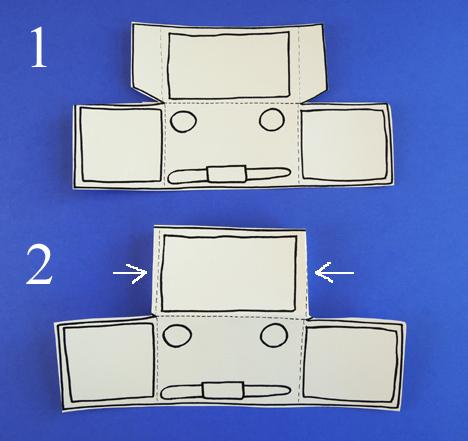 truck template fold 1