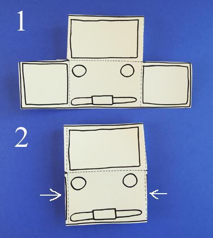 truck template fold 2