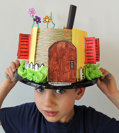 bird house hat