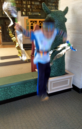 leaping ninja