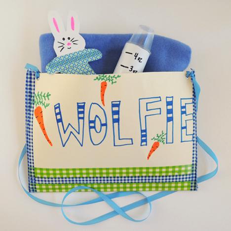 wolf diaper bag