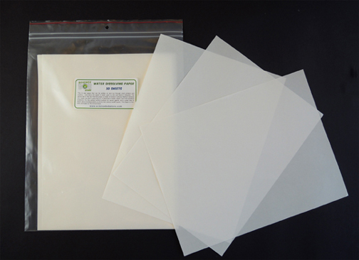 Water Soluble Paper and Dissolvable Products