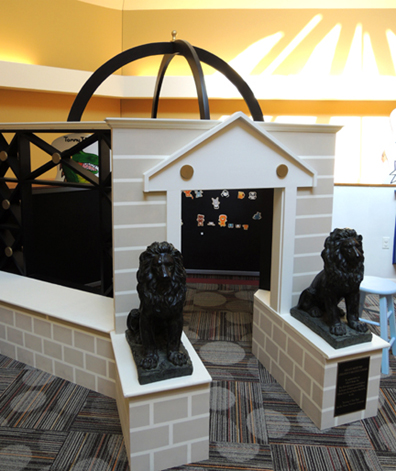 library-lions