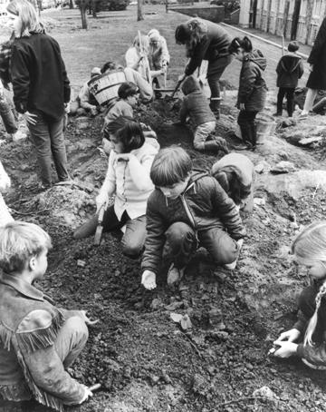 Hudibras Dig Historical Society of Princeton