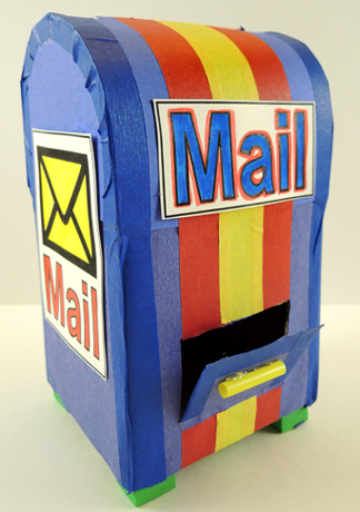 completed mailbox