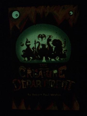 creature department book cover