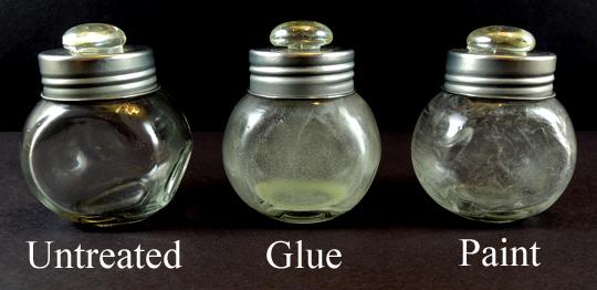 treated bottles
