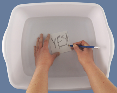 testing in tub