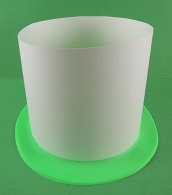 cake hat step 2