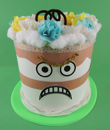 cake hat step 4